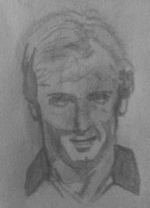 Paul Futcher drawing by Paul Rance