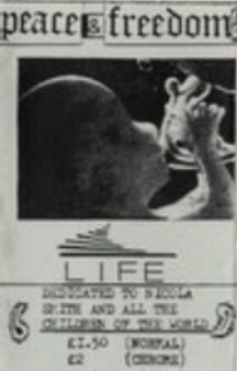 The Peace & Freedom Band Life Album Cover